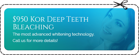 $950 Kor Deep Teeth Bleaching